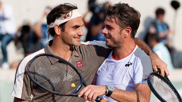 Wawrinka: «Federer? Como vou ter inveja de um dos melhores desportistas de todos os tempos?»