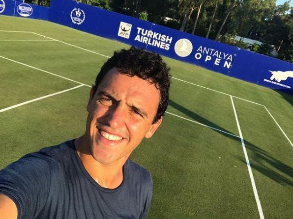 Gonçalo Oliveira vai jogar torneio ATP 250 em relva pela primeira vez na carreira