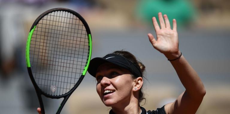 Halep arrasa em 55 minutos rumo aos 'oitavos' em Roland Garros