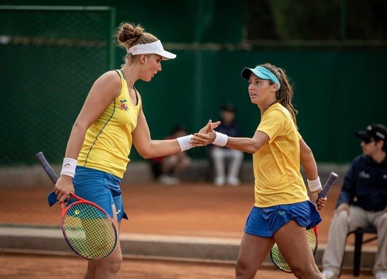 Bia Maia e Luísa Stefani CAMPEÃS da variante de pares do ITF de Ilkley