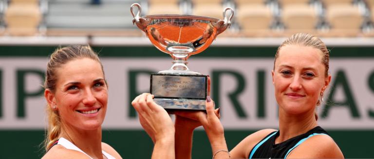 Mladenovic e Babos são as campeãs de pares em Roland Garros