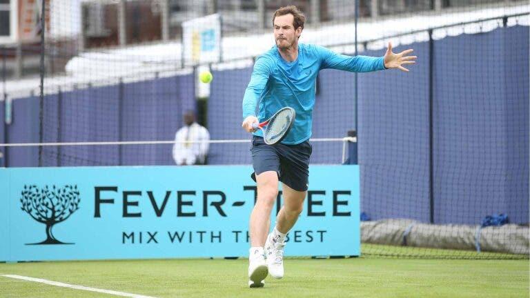 Murray quer jogar Eastbourne e Wimbledon… mas pode não ter parceiro