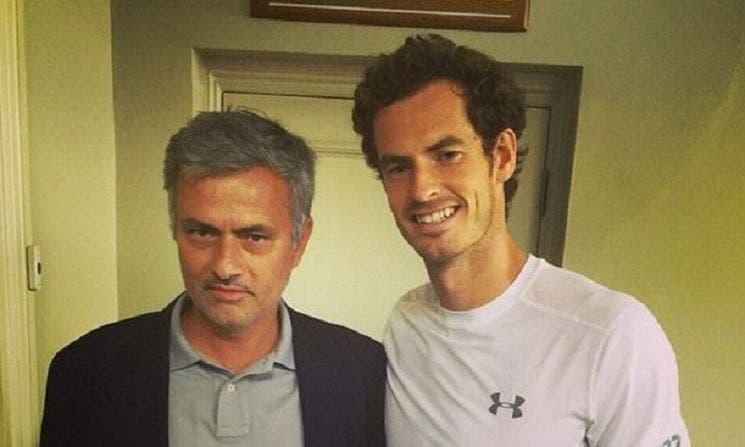 Andy Murray: «Adoro José Mourinho, ele é um vencedor»