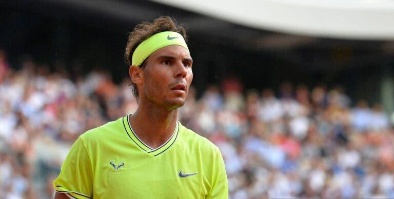 Confirmado: Nadal não joga qualquer torneio até Wimbledon