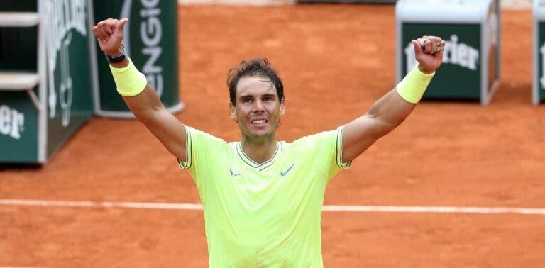 Rafa Nadal sai de Roland Garros como o melhor tenista de 2019