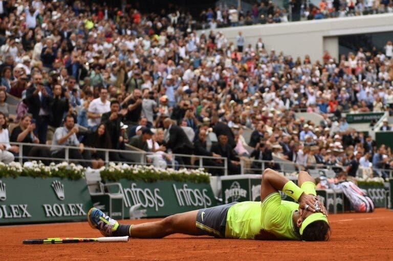 Cá está ele: O match point que deu o 12.º título a Nadal em Roland Garros