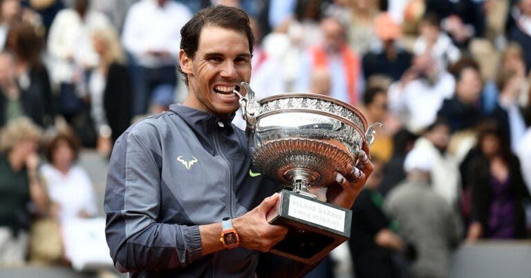 Em Paris, manda o Rei: Nadal chega à DÚZIA de títulos em Roland Garros
