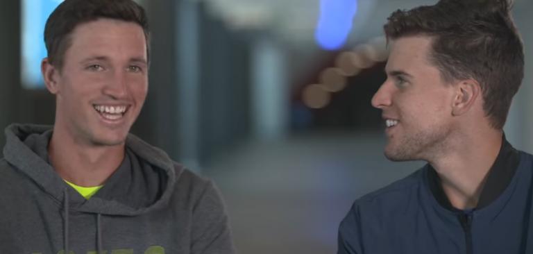 O outro Novak, o melhor amigo de Thiem: «Ele é n.º 4 ATP, não tinha de vir ver-me no qualifying»