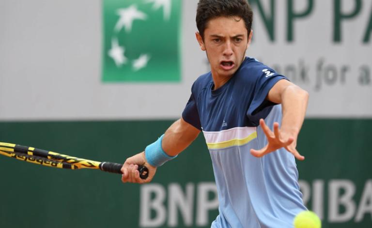 Pucinelli é campeão na variante de pares juniores em Roland Garros