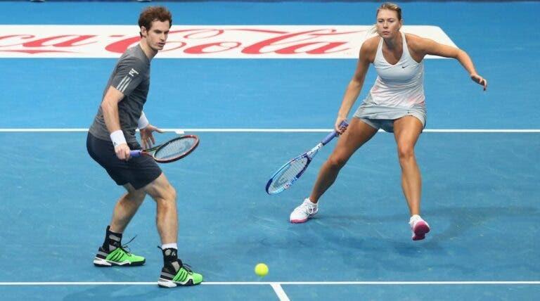 Murray lembra caso de doping e afasta parceria com Sharapova