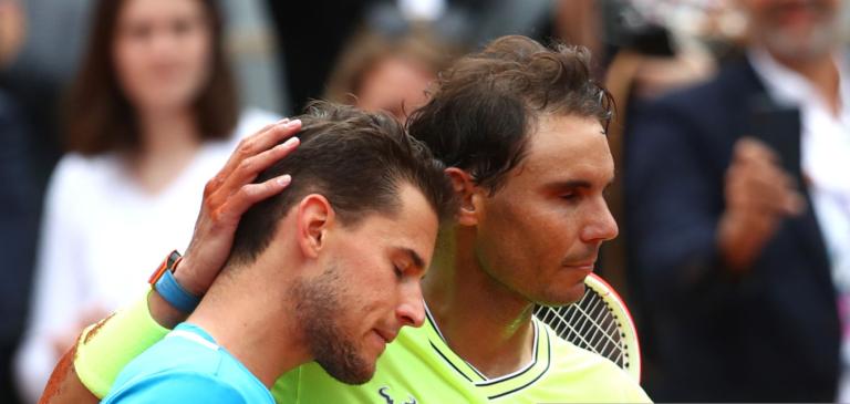 Nadal para Thiem: «Vais seguramente ganhar Roland Garros»