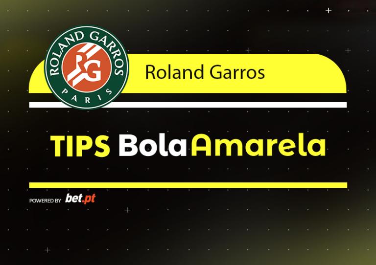 Apostas: Tips Roland Garros | 7/06/2019