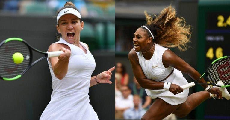 Wimbledon: siga Serena Williams vs. Simona Halep no nosso Live Center