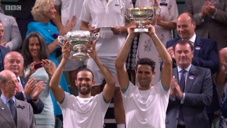 Histórico: Farah e Cabal ganham Wimbledon em final épica e são número 1