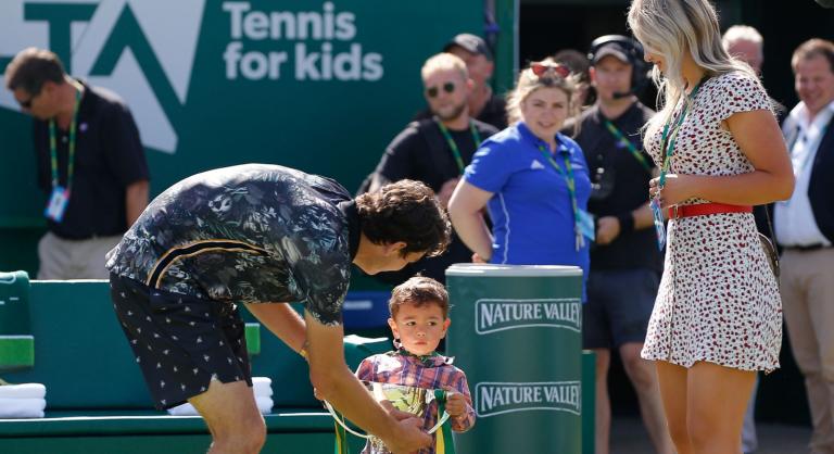 Após vencer o primeiro título ATP, Fritz festejou com o filho: «Estou a tentar assimilar aquilo que consegui»