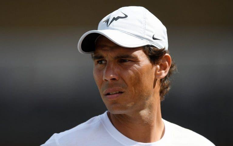Nadal: «Chorei, desesperadamente, após a final de Wimbledon de 2007»