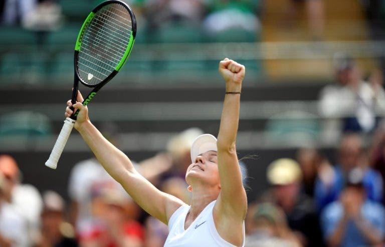 Halep: «O título em Wimbledon fez com que o meu ano de 2019 fosse muito bom»