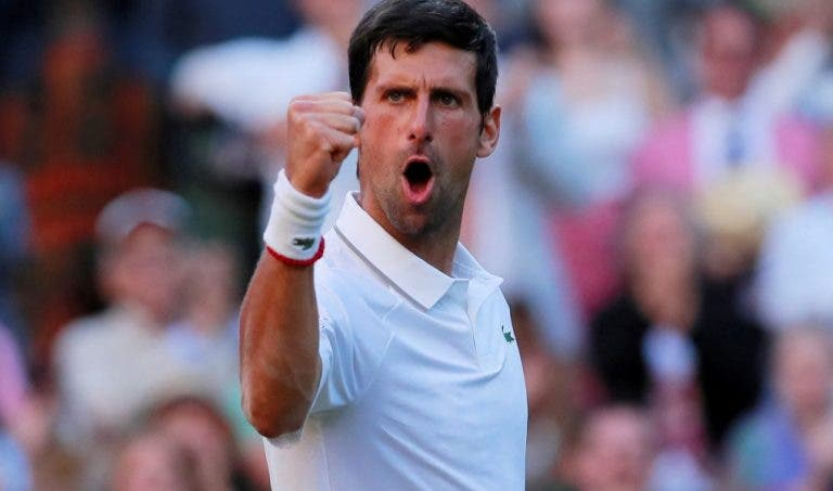 Djokovic arrasa rumo à 36.ª meia-final de Grand Slam da carreira