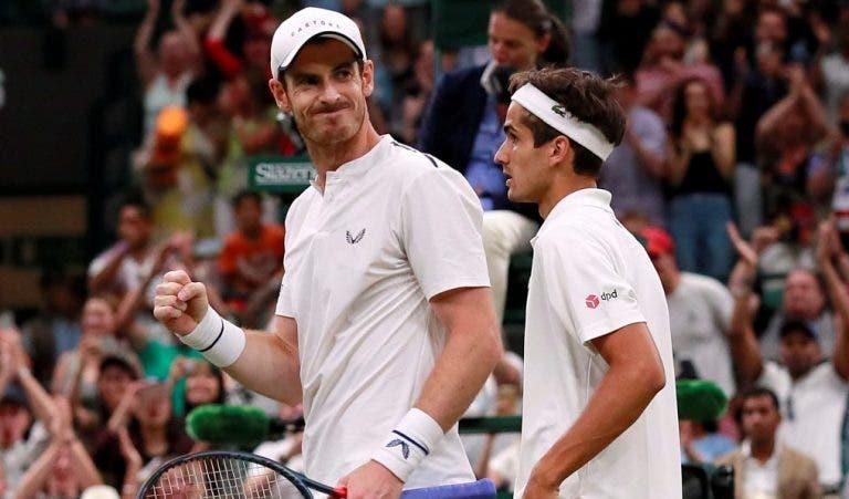 Murray e Herbert entram mal mas terminam com pneu rumo à segunda ronda de Wimbledon