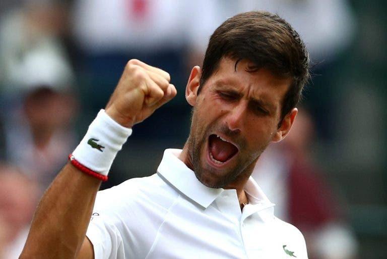 Djokovic supera Federer e torna-se no 2º jogador da história com mais semanas no topo numa só década