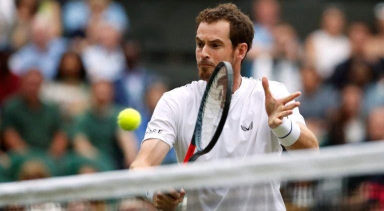 Murray: «Estou muito feliz por competir aqui, sinto-me bem»