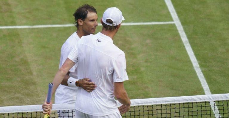 Querrey após perder para Nadal: «Rafa está fresco e sente-se bem, pode ganhar Wimbledon»