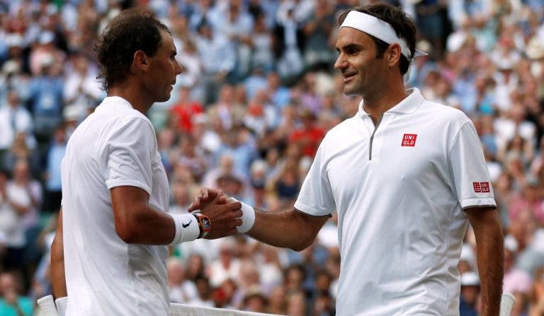 Nadal sobre Federer: «Ele consegue sempre tornar o mais difícil no mais fácil»