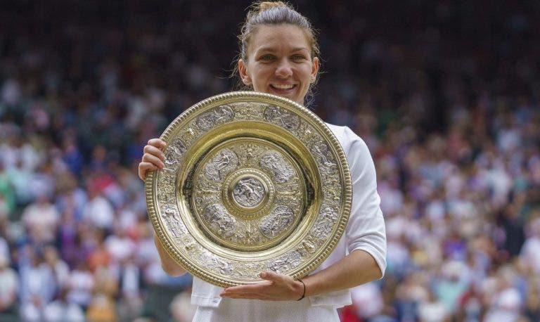 Como as palavras de Federer ajudaram Halep a conquistar Wimbledon
