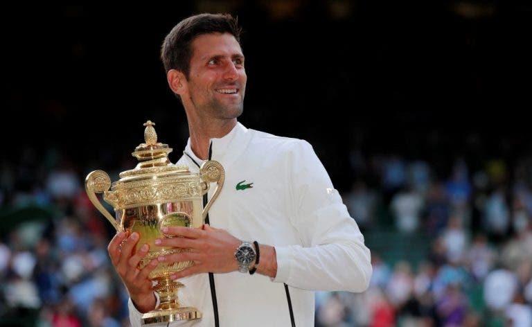 Eis o novo top 8 da Race para Londres: Djokovic 'tira' Nadal da liderança; Zverev fora dos eleitos