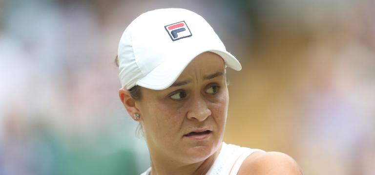Riske elimina a número 1 Barty nos 'oitavos' de Wimbledon