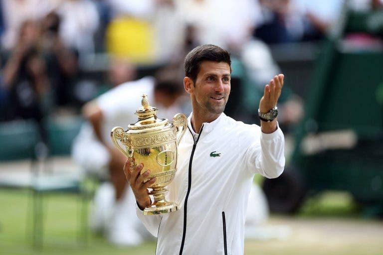 Restaurante de Djokovic 'celebra' match points salvos diante de Federer