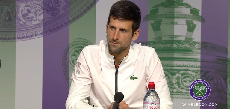 Djokovic: «Toda a gente sabe o quão bom é o Federer»
