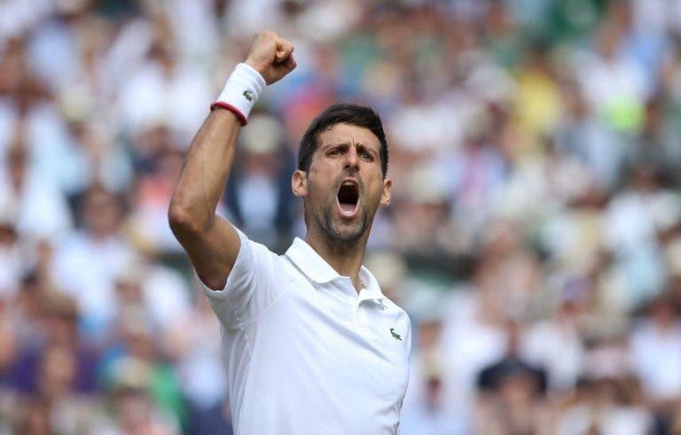1.º adversário de Djokovic no circuito ATP: «Senti que ele era especial»