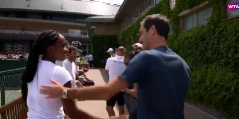 Gauff explica a importância de Federer na sua carreira
