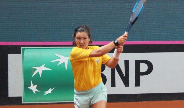 Gabriela Cé eliminada nos 'oitavos' do WTA de Palermo