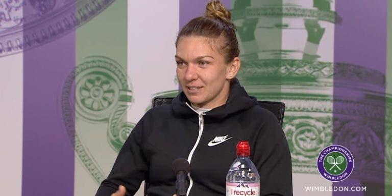 Halep: «Estou mais desesperada por ganhar Wimbledon do que por bater a Serena»