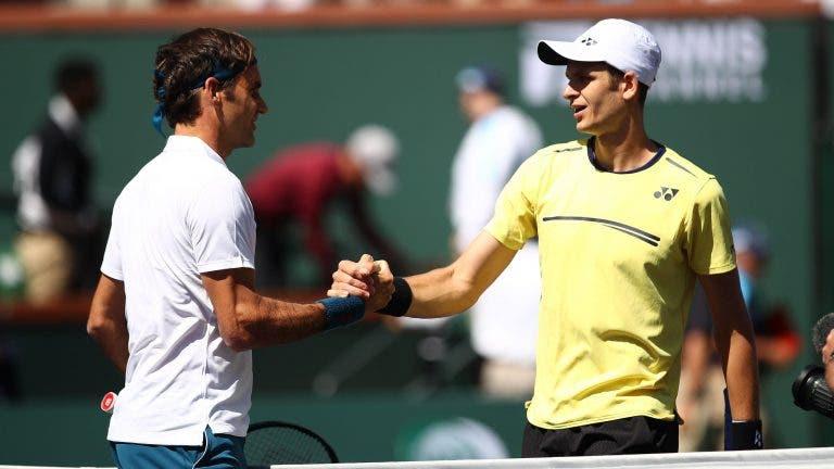 Hurkacz: «O meu sonho é ganhar a Federer um dia»