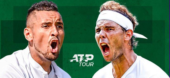Wimbledon: siga o Nadal vs. Kyrgios no nosso live center