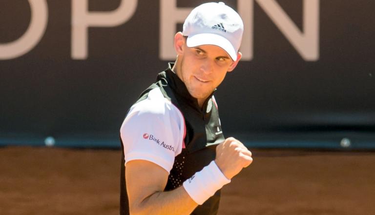 Dominic Thiem chegou às 250 vitórias aos 25 anos