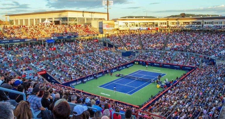 O quadro completo do ATP 1000 de Montreal com primeiras rondas de luxo
