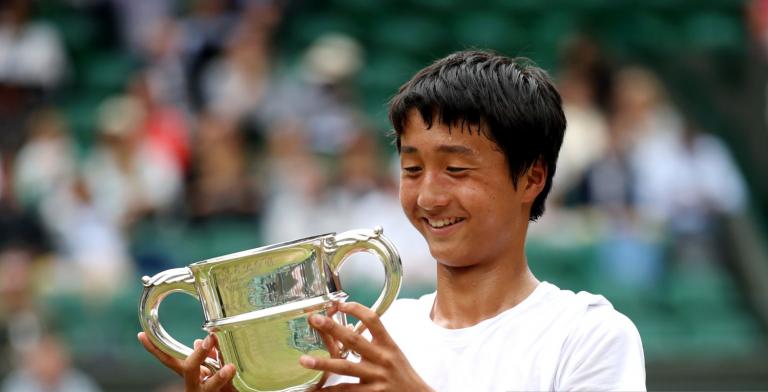 Mochizuki, o novo Nishikori, conquista Wimbledon júnior