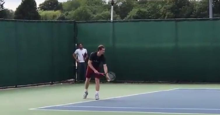 Andy Murray já treina em hard court: regresso a singulares à vista?
