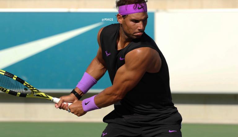 [FOTOS] Rafa Nadal volta a ir ao US Open… sem mangas