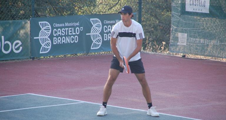 Aí vão 12: Nuno Borges não pára de ganhar e está nos 'quartos' em Castelo Branco