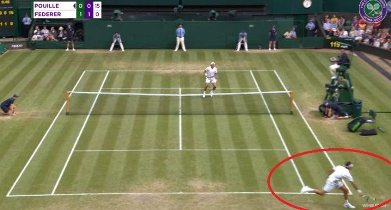 [VÍDEO] Os pontos mais incríveis da primeira semana de Wimbledon