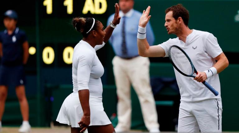 Serena e Murray já estão nos 'oitavos' de pares mistos em Wimbledon