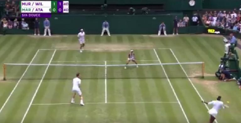 [VÍDEO] A resposta brutal de Serena ao serviço de Martin que deixou todos de boca aberta