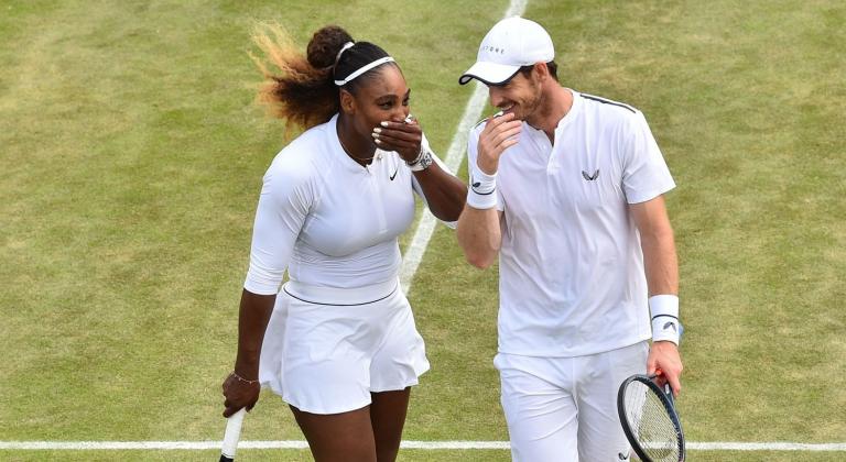 Serena Williams e Andy Murray ficam pelos 'oitavos' em Wimbledon