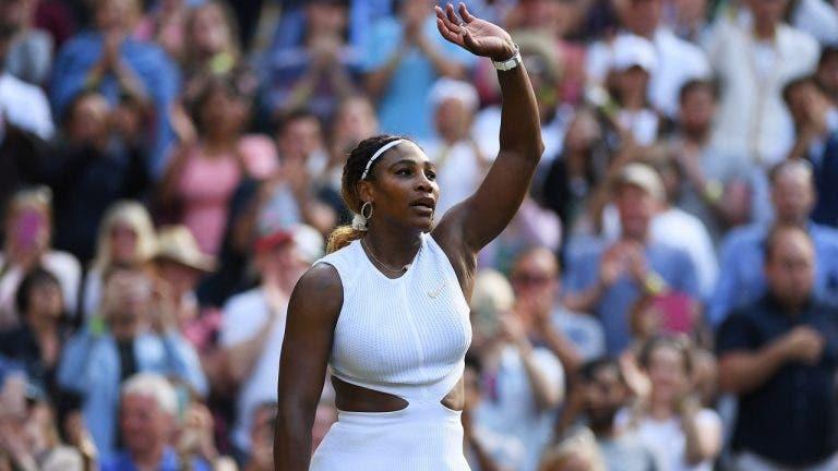 Serena tranquila para a final: «Vou sempre ter uma grande carreira, isso ninguém me vai tirar»