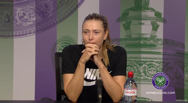 Sharapova responde no Twitter a Parmentier: «Estava a pensar numa sesta até que vi isto»
